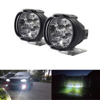 2pcs 10W Auto Motorrad LED Nebelscheinwerfer Scheinwerfer Fog Lampe Lichter Weiß