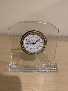 Waterford Crystal Metropolitan Large Clock, with box!
