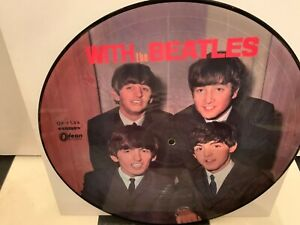 With The The Beatles  Picture Disc LP Odeon Made in Japan Top Used condition
