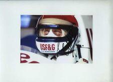 Eddie Cheever usf&g flèches A11 F1 saison 1989 signé Photo 5