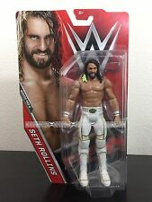 """SETH ROLLINS WWE Series 68B NEW Mattel Basic 6"""" Wrestling Fig WWF Wrestlemania"""