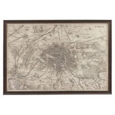 PARIS MAP 1672 A3 POSTER ART PRINT YF440