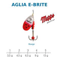 AGLIA E-BRITE MEPPS Argent / Rouge Taille 1 Poids 3,5 g UV Sensitive New