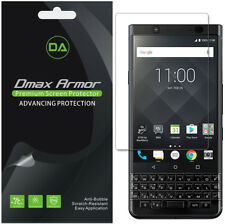 2x Dmax Armor for Blackberry Keyone Full Screen Coverage Clear Screen Protector