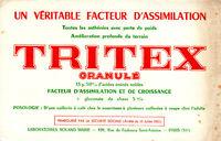 Buvard  Tritex Granulé  Laboratoires Roland Marie