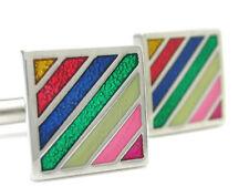 Colorful Enamel Cuff Links cufflinks #C-154