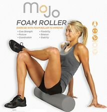 45mm Foam Roller Grey - Crossfit - Massage - Recovery - Muscle Trigger Point