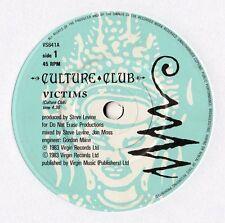 "Culture Club - Victims 7"" Single 1983"