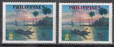 Philippinen Nr. 652-653** Weltflüchtlingsjahr 1960