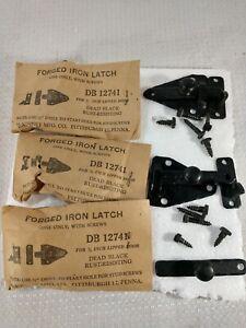 5 Forged Iron Latch Cabinet Cupboard McKinney Hardware 40s db12741