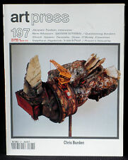 Art Press 197 : Chris Burden, Streuli, Spoerri, Twombly, Zagdanski…