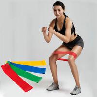 Latex Resistance Band Yoga Elastic Muscle Fitness Training Pilates Band Exercise