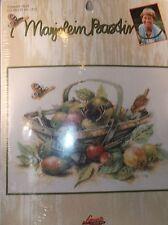 Marjolein Bastin SUMMER FRUIT Birds & Butterflies Counted Cross Kit  New #115595