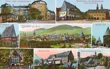 Goslar am Harz,Germany,8 Views,Lower Saxony,c.1909