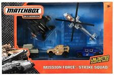 MATCHBOX SKY BUSTERS MISSION FORCE STRIKE SQUAD - 5 Vehicles - CJL57