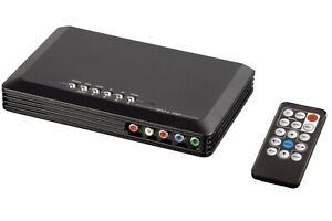 Hama Video Converter 4in1 Skalierer HDMI YUV Component S-Video Cinch Composite