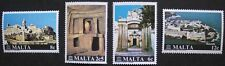 Restoration of monuments campaign stamps, 1980, Malta, SG ref: 641-644, MNH