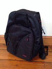 "Codi Tri-Pak Black School Bag Laptop Case Backpack Carry-On Luggage Day Pack 16"""