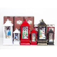 Christmas Decoration Candlestick Pendant Xmas Mini Table Lamp Decor Wind Light