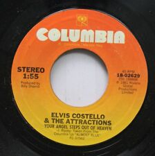 Rock 45 Elvis Costello & The Attractions - Your Angel Steps Out Of Heaven / A Go
