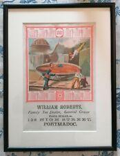 More details for antique advertising - 1882 calendar - tea dealer - framed and glazed (b)