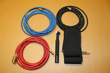 45V03R / 45V07R / 45V09R 12.5 Ft braided tig welding hose torch combo