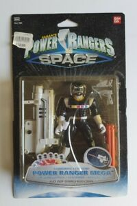 Power Rangers In Space - Black Ranger (Launching) Action Figure
