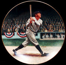 BABE RUTH The Called Shot DELPHI The Legends of Baseball COLLECTORS PLATE ~ EUC