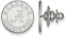 Sterling Silver University of Alabama Lapel Pin by LogoArt (SS051UAL)