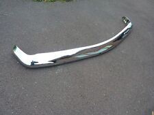 ROVER P6 3500S NADA  Front Bumper.     Rechromed.  Part no 570053.