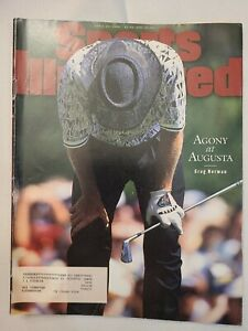 April 22 1996  Sports Illustrated Magazine Greg Norman blows big lead at Masters