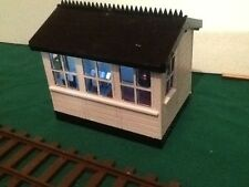 SIGNAL BOX FOR GARDEN RAILWAY. 16MM SCALE. COMPLETE KIT. G SCALE