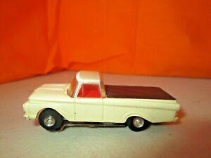 Vintage Aurora Vibrator '62 Ford Pickup Truck w/Vibrator Chassis HO Slot Car