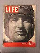 LIFE MAGAZINE OCTOBER 11, 1937 NO.1 TROJAN FOOTBALL MYRNA LOY BOEING BOMBER B-17