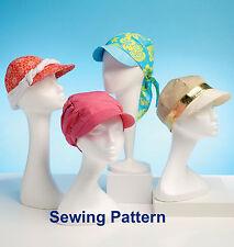 Kwik Sew K4107 PATTERN - Hats - Brand New - OSZ