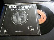 KRAFTWERK VINYLE 45 TOURS, RADIOACTIVITY, VINYL VINTAGE