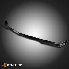 2011-2014 Dodge Charger Black PU RA Style Front Bumper Lip Spoiler Splitter