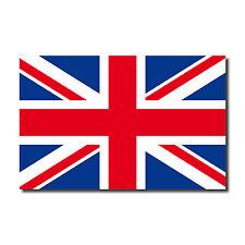 50 pezzi 6,5cm Adesivi Sticker Inghilterra UK Union Jack EM WM bandiere bandiere