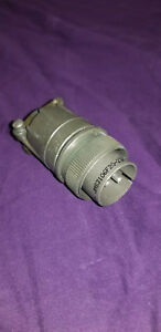 Amphenol JMS3106F20-23P 2 Pin Male MIL-Spec Connector