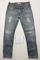 Levi's 511 Slim jeans avec rupture d'occassion Cod.F517 Taille 46 W32 L30