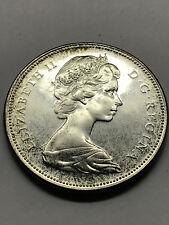 1867-1967 Canada Centennial Silver Dollar BU+ Toned #6613