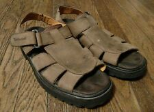 Timberland Men's Brown Leather Open Toe Sandals Size 10M
