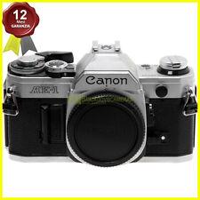 Canon AE-1 fotocamera reflex a analogica innesto FD. Macchina fotografica usata.