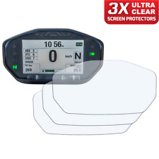 3 x DUCATI MONSTER 14+ instrumento/dashboard/Speedo UC protector de pantalla