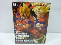 DRAGON BALL Z - Figuras Son Goku Vegeta Trunks SSJ Absolute Perfection Banpresto