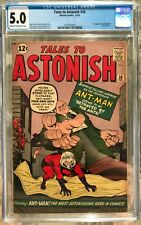 Tales to Astonish #38 (1962) CGC 5.0 -- 1st appearance of Egghead (Elihas Starr)