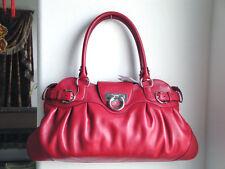 485f2d57bfd 2123 Medium Salvatore Ferragamo Red Full Sheep Leather Marisa Handbag