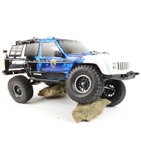 FS RACING 1:10 SCALE RC ROCK CRAWLER WITH PC BODY SHELL REMOTE CONTROL OFF ROAD