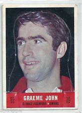 1969 Scanlens Die Cut Graeme JOHN South Melbourne ****