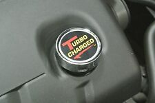 1986-2013 Chevrolet Corvette Chrome Plated Oil Cap Cover w/ Turbocharged Decal